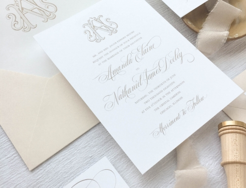 5 Ways to Personalize a Wedding Invitation