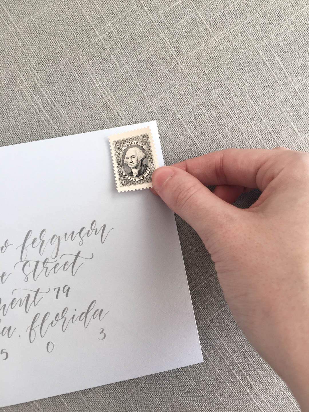 Worrying about wedding invitation assembly can add so much unnecessary stress to your wedding planning. | 3 reasons for your stationer to assemble your wedding invitations | Calligraphy by The Blonde Scribe | Custom wedding invitations by Little Fox Paperie | Chicago, Illinois | Gracie Nunez