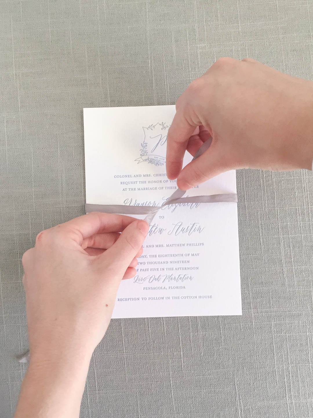 Worrying about wedding invitation assembly can add so much unnecessary stress to your wedding planning. | 3 reasons for your stationer to assemble your wedding invitations | Custom wedding invitations by Little Fox Paperie | Chicago, Illinois | Gracie Nunez