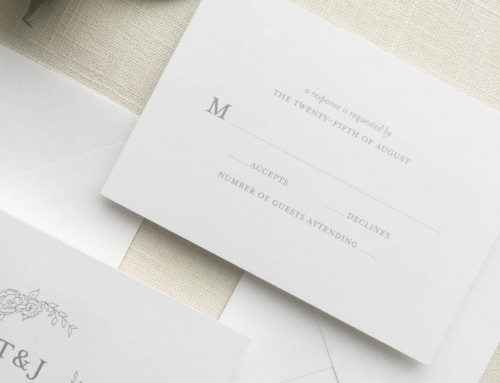 RSVP Card Wording