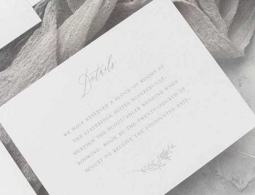 Detail Card Wording