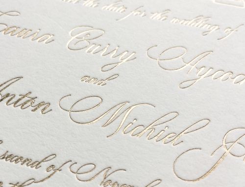 Wedding Invitation Printing Methods